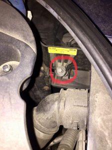車検トゥアレグヘッドライトの外し方