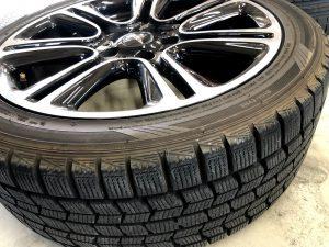 MINIクロスオーバーの225/45R18のスタッドレスからピレリのドラゴンスポーツにタイヤ交換