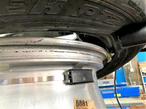 フォード、フレックスタイヤ空気圧センサー